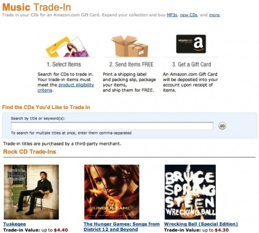 music trade in amazon 520x468 Amazon now lets you trade in your old CDs [Updated]