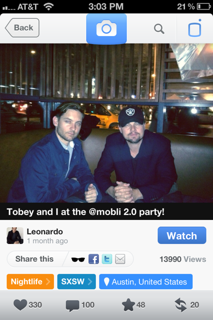 photo 16 Mobli announces its 2M user milestone, launches Facebook Timeline integration