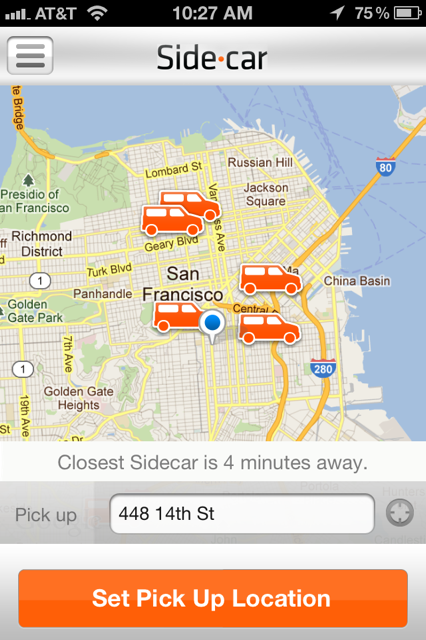 photo19 SideCar is a community ridesharing app that aims to turn all of us into Uber drivers