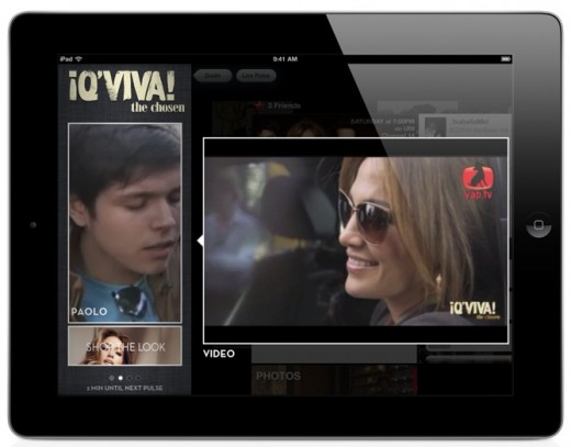 qviva jlo 520x407 Social TV app yap.TV wants to help broadcasters reach your second screen