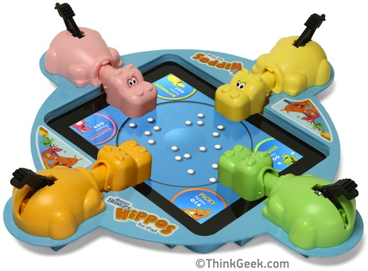thinkgeek Best April Fools Jokes of 2012: Adblock is now CatBlock, Hungry Hippos comes to the iPad and more