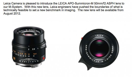 3fix 520x306 New Leica products leak: Leica M Monochrom, X2 and 50mm Summicron lens
