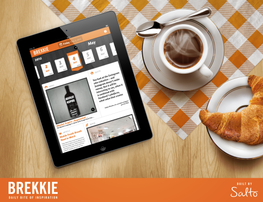 Brekkie Promo 520x400 Brekkie: The simple iPad app with daily servings of advertising and design inspiration