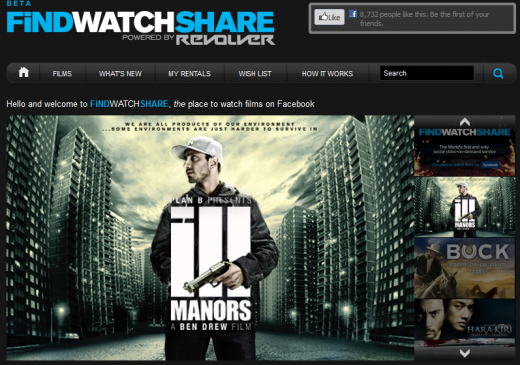 a10 520x365 FindWatchShare: Revolver rolls out Facebook video on demand service in the UK and Ireland