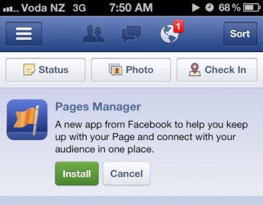 atcpudbcqamvgrh 520x405 Facebook launches dedicated Pages Manager app, making it easy to, well...