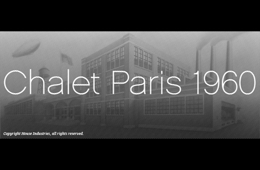 chalet 1960 30 of The Best Alternatives to Helvetica