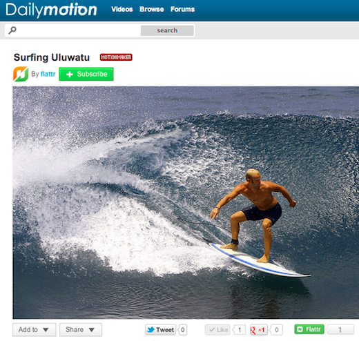 flattr Social micro payments startup Flattr strikes deal with online video giant Dailymotion