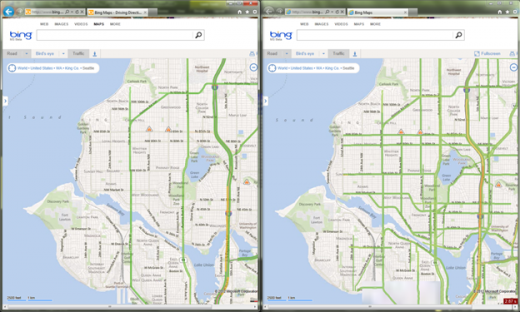 image001 520x312 Bing Maps taps Nokia to power its Traffic feature and geocoding information