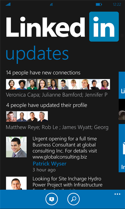 li LinkedIn releases official Windows Phone app, and its beautiful