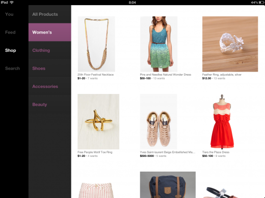 photo 2 520x390 Svpply unveils its elegant new iPad app featuring endless browsing of 80,000 stores