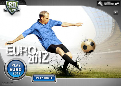 90 Berlin startup Crowdpark bets on Euro 2012 with the launch of 90Live game