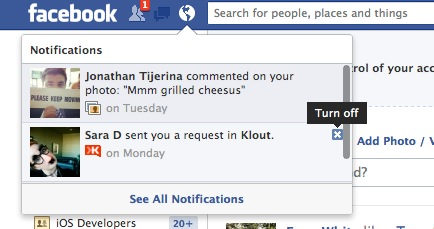 Screen Shot 2012 06 20 at 2.06.10 PM Facebook now lets all users opt out of notifications right in the drop down menu