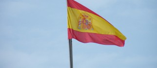 Spanish flag in Palma de Mallorca by uggboy