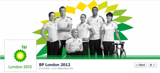 bp london 2012 520x238 10 brands vying for Socialympics supremacy