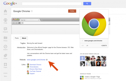 c.3 520x335 Google makes it easier to link your website to your Google+ page