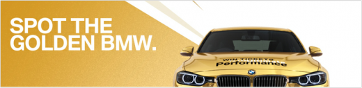 golden bmw 520x127 10 brands vying for Socialympics supremacy