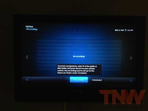 photo 33wtmk2 520x390 A first look at the UKs long awaited YouView smart TV service
