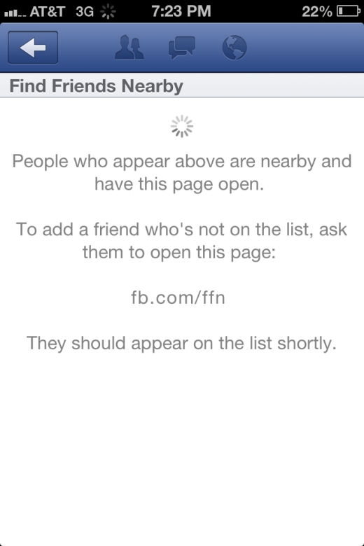 photo1 520x780 Facebook removes Find Friends Nearby, company says it wasnt a formal release