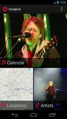 songkick 220x391 The best Android apps of 2012 so far