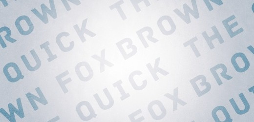 type - Quick Brow Fox