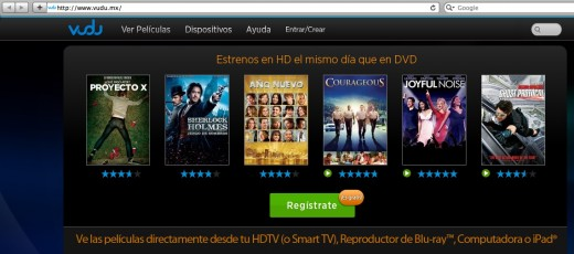 vudu.mx  520x230 Walmarts movie streaming service Vudu is now available in Mexico