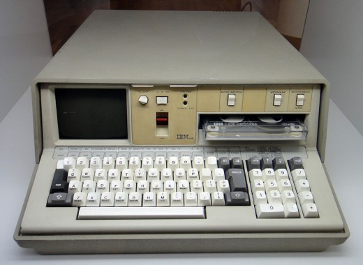 800px IBM 5100   MfK Bern 520x380 First portable computer: 55 pounds and cost more than a car
