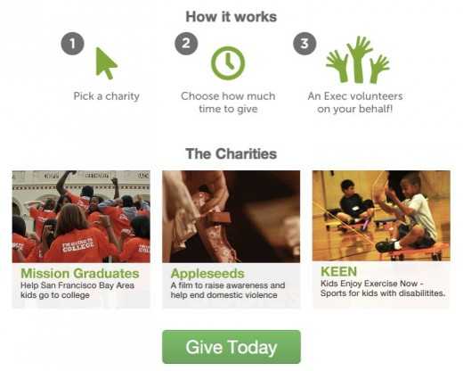 EXEC  Get local help with errands jobs and tasks right now. 520x416 Exec now allows you to hire someone to do charitable volunteer work on your behalf