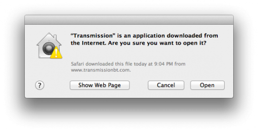 Gatekeeper File Quarantine 520x267 TNW Review: OS X 10.8 Mountain Lion