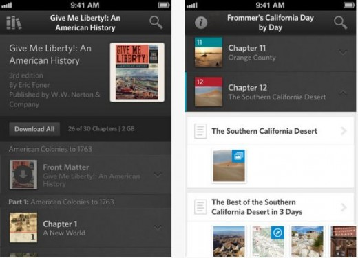 Inkling 520x376 Inkling rolls out version 3.0 of its interactive book platform, now supports iPhone and iPod Touch