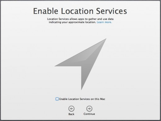Installation Location Services 520x391 TNW Review: OS X 10.8 Mountain Lion