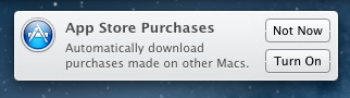 Mac App Store Auto downloads notice TNW Review: OS X 10.8 Mountain Lion