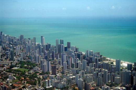 Recife from the air by Guilherme Jofili 520x345 18 Latin American tech hubs you should know