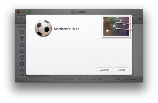 Sharing AirDrop 520x339 TNW Review: OS X 10.8 Mountain Lion