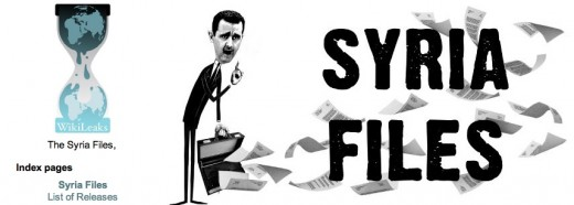 Syria files 520x186 Wikileaks releases the Syria Files, a new batch of over 2.4 million confidential emails