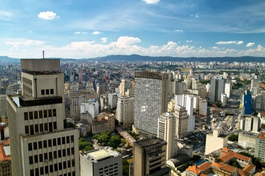 View of Sao Paulo skyline via Pond5 520x346 18 Latin American tech hubs you should know