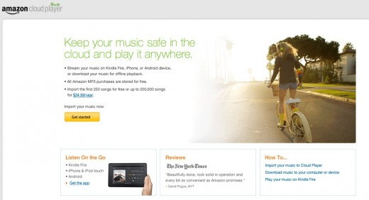 amazon cloud reader 520x282 Amazon updates Cloud Player to compete with iTunes Match