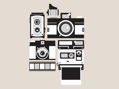 dribbble 1 21 Gorgeous film logos and icons for your design inspiration