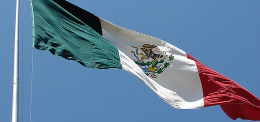 mexican flag by echoforsberg