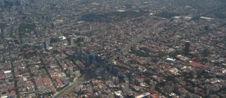 mexico city from above by eeliuth