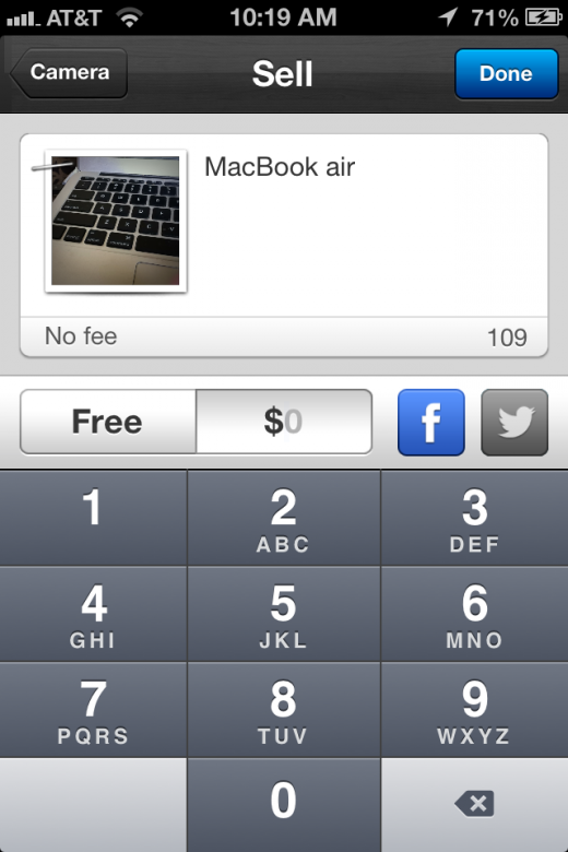 photo 21 520x780 Yardsale for iOS might be the quickest way to sell all of the stuff sitting around your house