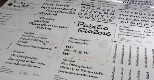 prints1 520x269 Check out the beautiful custom typeface for the Rio 2016 Olympics
