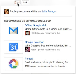 Google+ recommendations across the Web are rolling out to all users today