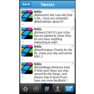 screenshot2 192x192 Twitter launches app for Nokia Series 40 feature phones in continuing effort to target developing markets