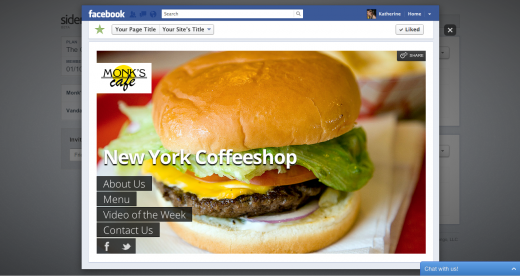 sidengo dashboard facebook preview 520x276 Sidengo gets a radical revamp, making building your own website even easier