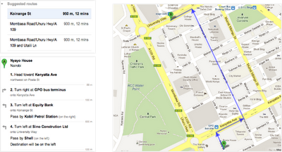 sniVgTHsAJIJ2Qje0AojhAg Google introduces walking directions in Maps for 44 countries in Africa