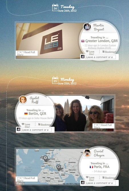tripl Tripl launches beautiful travel summaries to help you keep track of your friends journeys