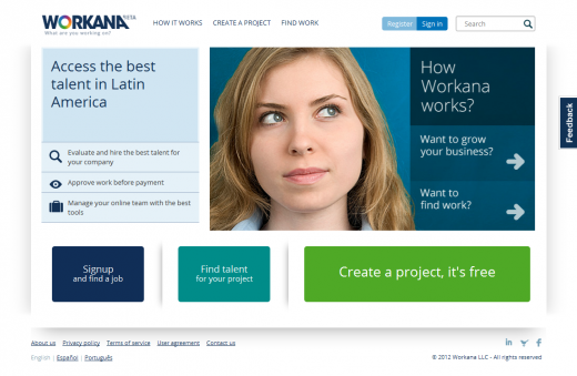 workana homepage 520x339 TNW Latin America Startup Battle: And the winner is...