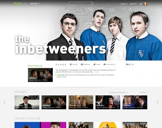 6 show inbetweeners 520x412 Hulu redesigns its website to boost content discovery, adds browse option, staff picks and more