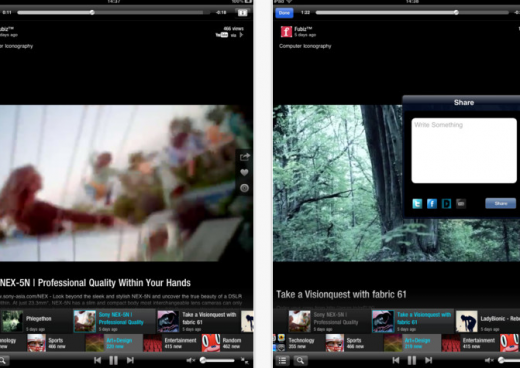 Deja2 520x368 Deja brings 'lean back TV streaming to mobile devices