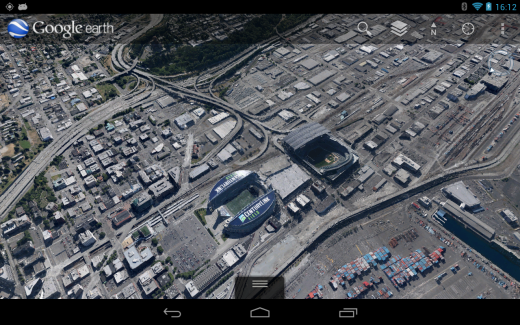 Safeco Field 520x325 Google Earth gets 3D imagery in Denver and Seattle, on both iOS and Android